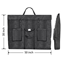 Military SCB Tote Padded Bag Industrial Canvas Popular Handles Pockets Long Lasting Durable Paper