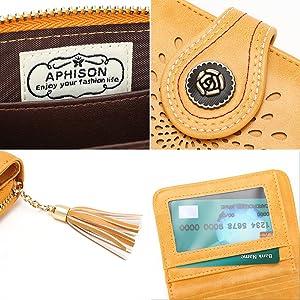 womens rfid small wallet