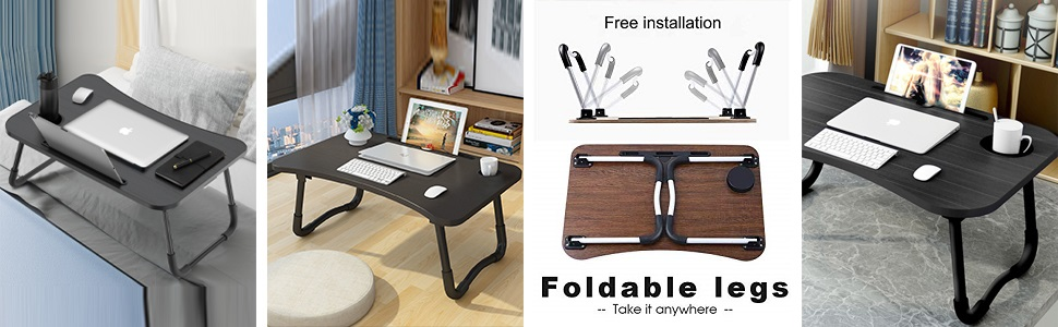 Lapdesk Laptop Table Small Table for Laptop Best Table For Laptop Smart Multi Purpose Laptop Table