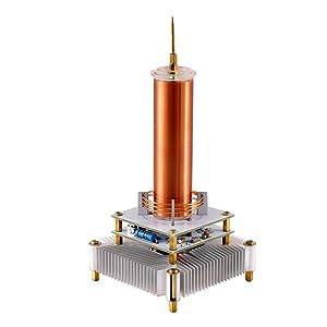 mini tesla,mini tesla coil,tesla musical coil,music tesla coil,tesla coil speaker,tesla coil music