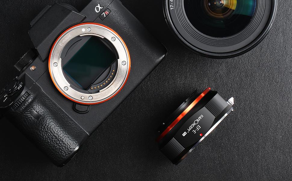 etc. Bindpo Anillo Adaptador de Lente PK-EOS//EF convertidor de Lente de aleaci/ón con Contacto el/éctrico y Modo AV para Pentax Lente K para Canon EF 77D 80D 7D Mark II 5D Mark II Mark III