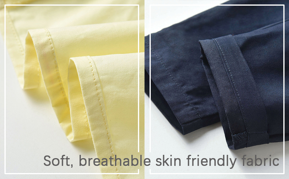 Soft, breathable skin friendly fabric