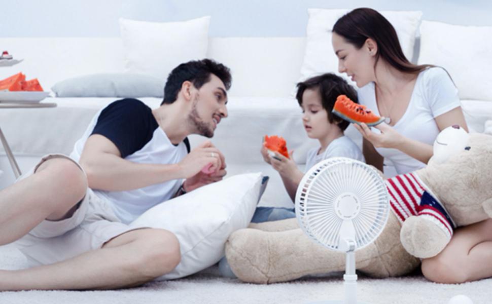 Multifunction floor fan