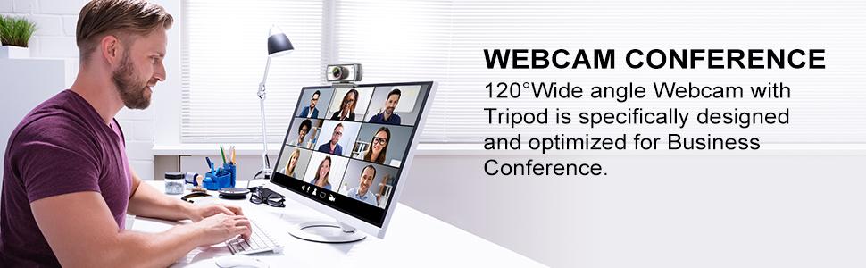 HD 1080P Cámara Web