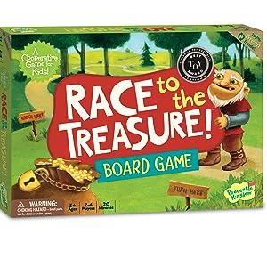Race To The Treasure Game