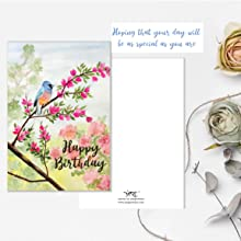birthday greeting floral gifting wishes