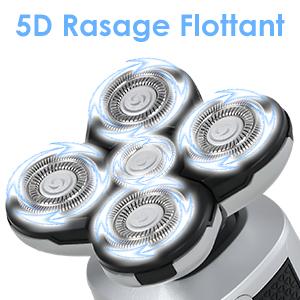 5D Rasage Flottant