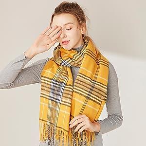 plaid scarf grid scarf lattice scarf check scarf