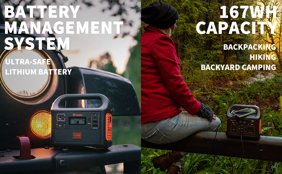Jackery Portable Power Station, Power Outdoors