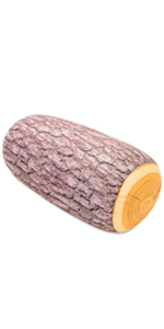 Microbead Log Roll Pillow