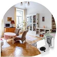 WYZE CAM PAN security / baby monitor / WIFI camera - Wall mounted shelf