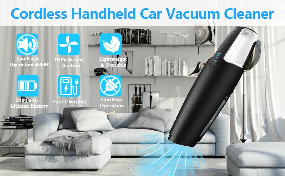 cordless car vacuum dust buster