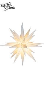 moravian star, christmas decorations