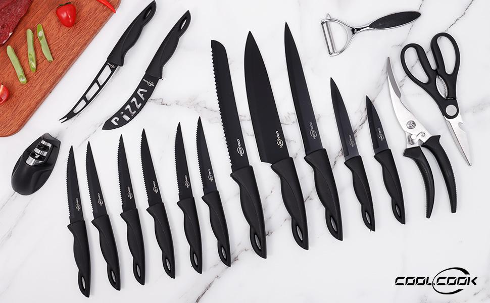 CoolCook kitchen Knife Set