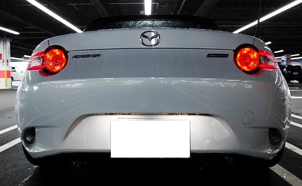 2x LED Bulbs 501 T10  White 5x  LED To Fit Number Plate Mazda MX-5 MK3