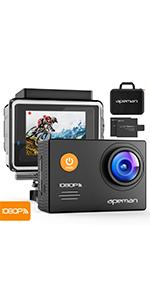 Apeman Action Cam A80 Uhd 4k Wifi 20mp Underwater Camera Photo