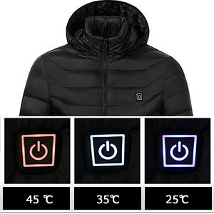 mens heated jacket