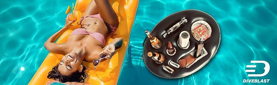 pool drink holder floats