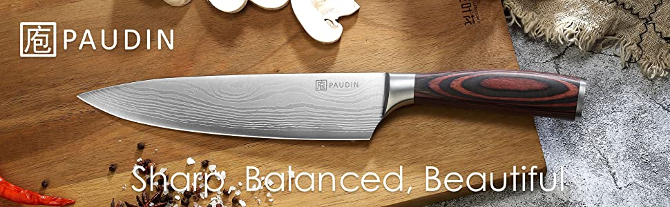 PAUDIN 8 Inch Chef Knife