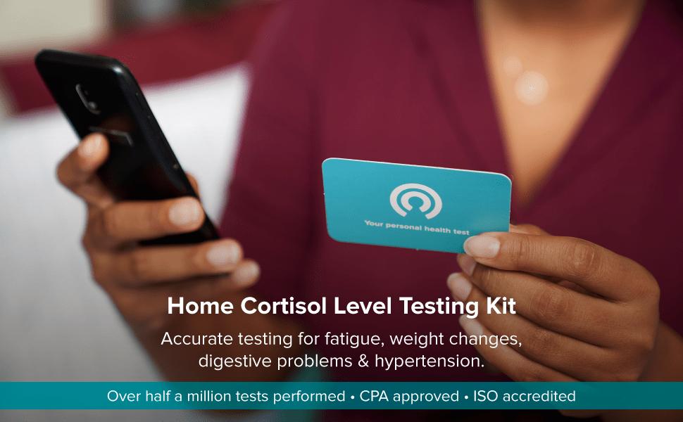 cortisol level testing kit