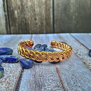 Pure Copper Kada with bulky design