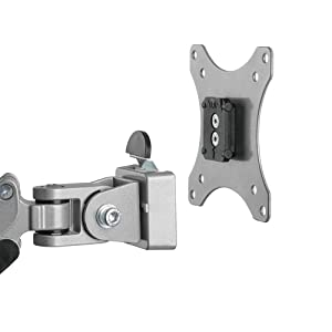the VESA plate on your monitor, then you just need to attach your monitor on the monitor arm.