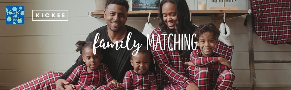 family matching pajamas kic kee pants kickee holiday pjs