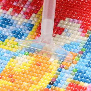 24Pcs Plastic 5D Diamond Painting Embroidery Set Cross Stitch Tools Kits