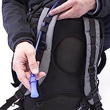 waterproof water comfortable bag kit hydration bladder hiking backpacking camping gallon liter fema