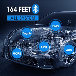 Mk906BT automotive diagnostic scanner key fob programming