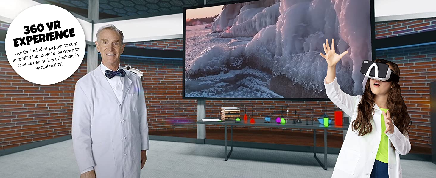 bill nye vr science kit abacus brands vr science lab for kids virtual reality science kit