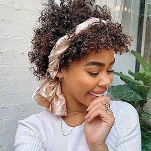 short human hair wigs for black women headband wigs for black women