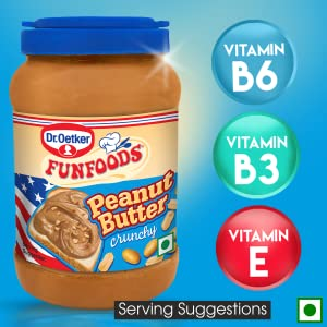 Dr Oetker Fun Foods Peanut Butter Crunchy, 2.5 kgs