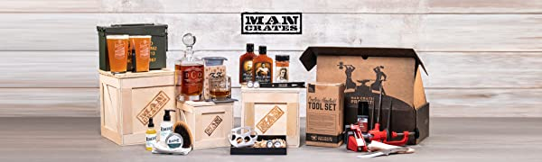 man crates, gifts for men