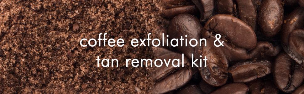 mCaffeine Coffee Exfoliation & Tan Removal Combo Body Scrub, Face Scrub Oily/Normal Skin