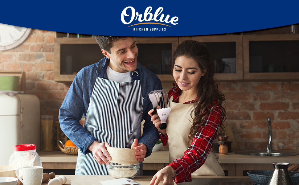 Orblue Dough Blender Stainless Steel Pastry Cutter bakes baker pizza dough pastries pies biscuits