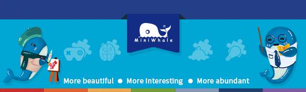 mini whale toy