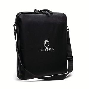 bag of baseball bases carrying bag