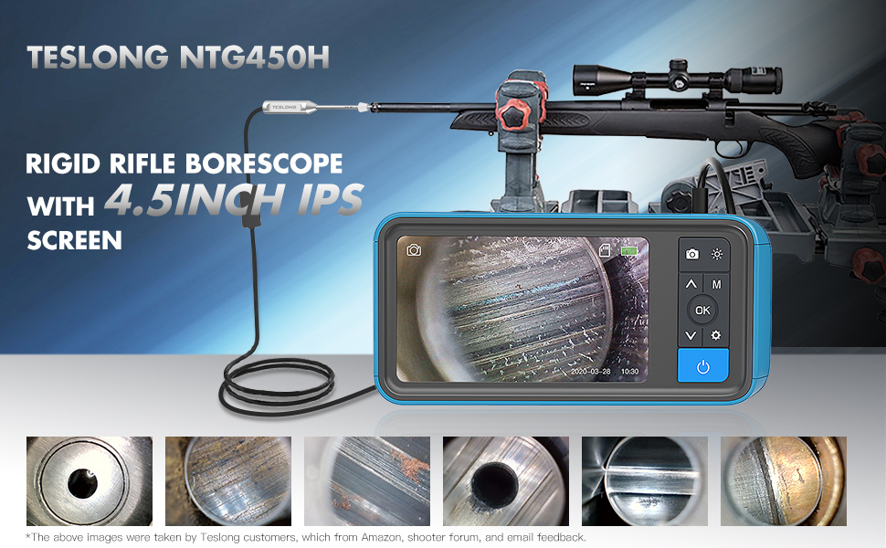 Rigid rifle borescope