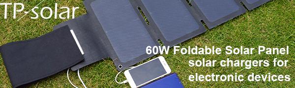 foldable solar panel 60W 100W