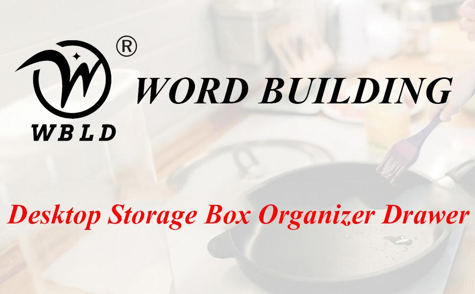 Desktop Storage Box Organizer Drawer