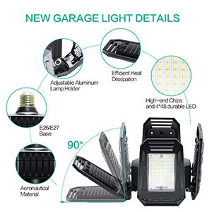 led garage ceiling lights