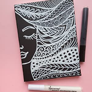 paint pens for rock painting, fabric, canvas