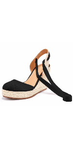 lace up espadrille sandals