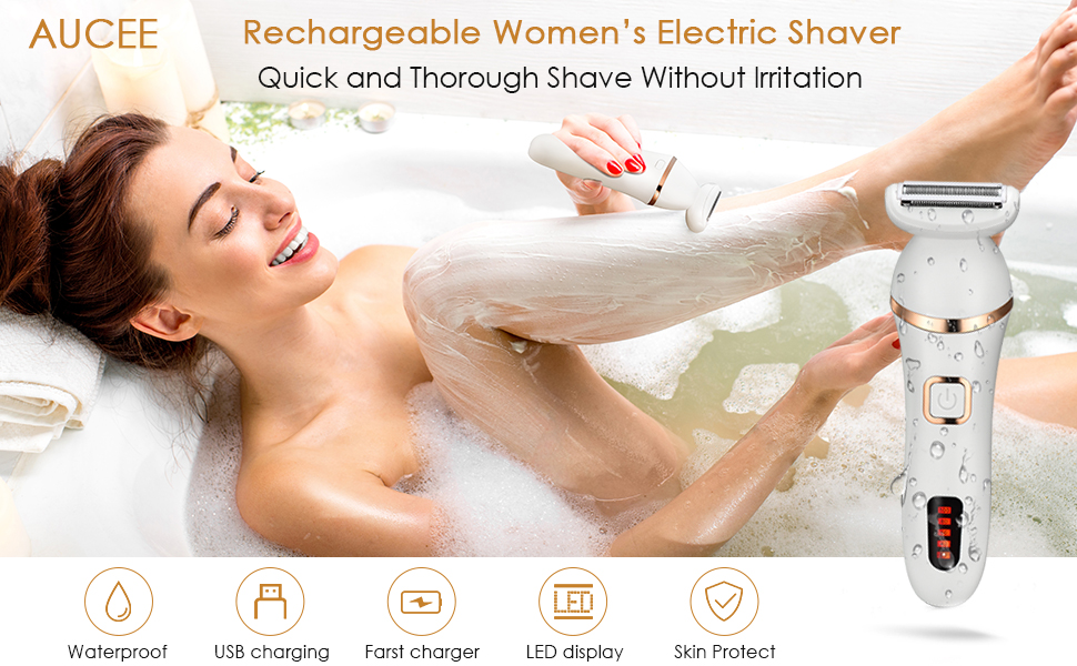 electric razor for woman