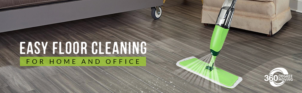spray mops for floor cleaning