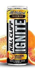 Kill Cliff Ignite Smashing Citrus