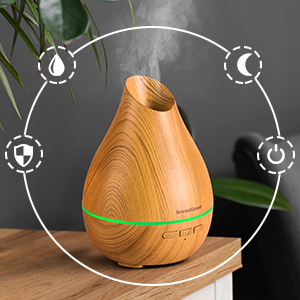 Diffuser for essential oils