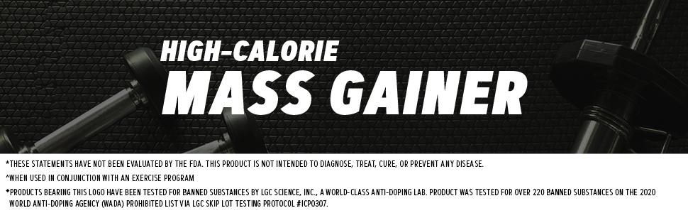 High-calorie mass gainer