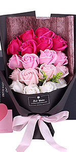 誕生日プレゼント 母の日 花束ギフト 造花 先生の日 花 ソープフラワー フラワー
